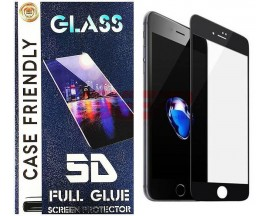 Geam protectie display sticla 5d full glue apple iphone 12 black