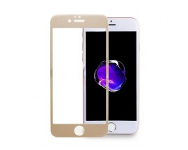 Geam protectie display sticla 5d full glue apple iphone 6 gold
